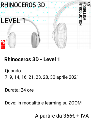 Rhinoceros 3D Level 1