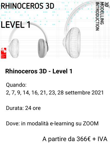 Rhinoceros 3D - Level 1